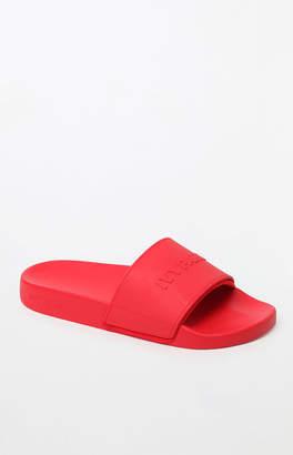 Ivy Park Embossed Logo Slide Sandals