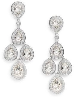 Sensation Swarovski Crystal Chandelier Earrings $160 thestylecure.com