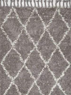 nuLoom Fez Hand-Knotted Shag Area Rug
