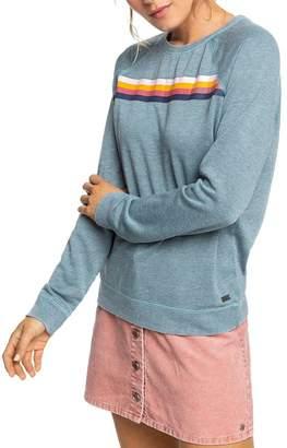 Roxy Striped Detail Sweatshirt