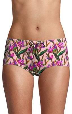 Vilebrequin Fabe Nude Boyshort Bikini Bottom