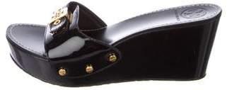 Tory Burch Platform Wedge Sandals