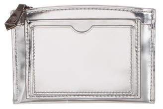 Reed Krakoff Metallic Leather Pouch
