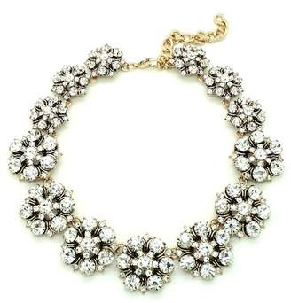 Eye Candy Los Angeles Golden Flower Necklace
