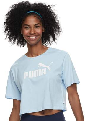 Puma Women's Cropped Graphic Tee