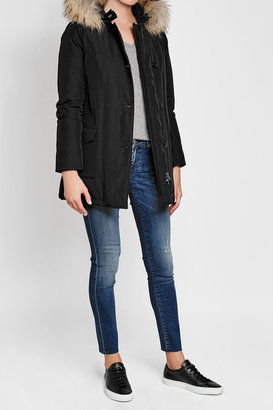 Woolrich Arctic Down Parka with Fur-Trimmed Hood $739 thestylecure.com