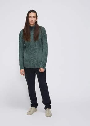Sies Marjan Rory Mockneck Velour Sweater