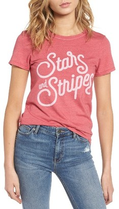 Women's Junk Food Stars & Stripes Graphic Tee $45 thestylecure.com