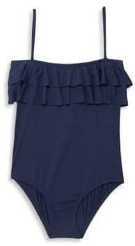 Melissa Odabash Little Girl's & Girl's Ruffled One-Piece Swimsuit