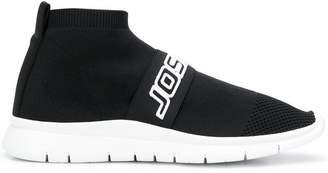Joshua Sanders logo sock sneakers
