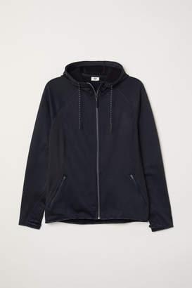 H&M H&M+ Fleece Outdoor Jacket - Blue
