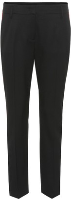 Schumacher Dorothee Cool Ambition striped trousers