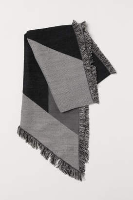 H&M Color-Block Scarf - Gray