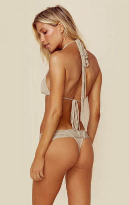 Indah echo skimpy macrame bottom $143 thestylecure.com