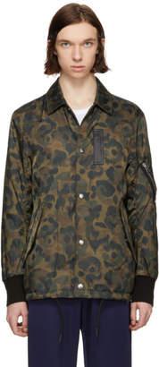Coach 1941 Green Camo Wild Beast Jacket