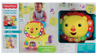 Fisher-Price 3-in-1 Sit, Stride and Ride Lion - French Version