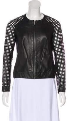 Muu Baa Muubaa Casual Leather Jacket