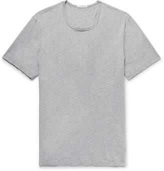 James Perse Slim-Fit Mélange Cotton and Cashmere-Blend Jersey T-Shirt