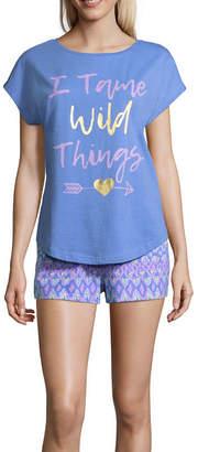 Asstd National Brand Mommy & Me Shorts Pajama Set
