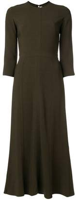 Victoria Beckham flared panelled dress
