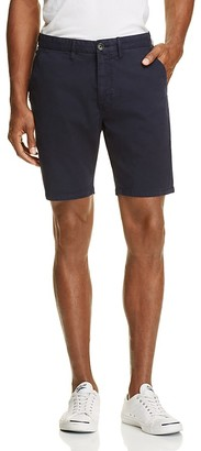 PS Paul Smith Stretch Cotton Slim Fit Shorts $175 thestylecure.com