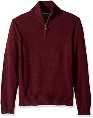 J.Crew Mercantile Men's Lambswool-Nylon Half Zip Sweater