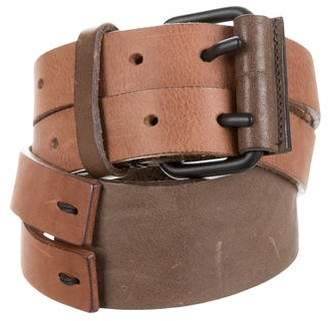 Hache Leather Waist Belt