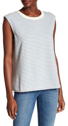 Current\u002FElliott The Collin Stripe Muscle Tank