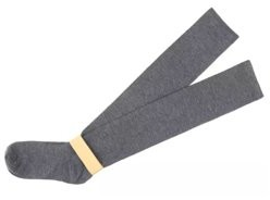 Unbranded Thigh High Winter Compression Socks - Gray (knit)