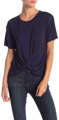 Elodie Short Sleeve Twisted Front Tee