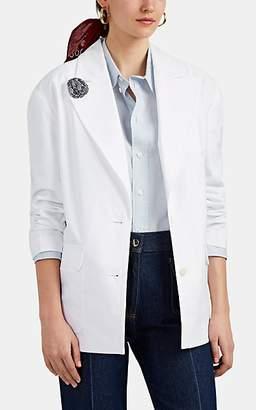 Alex Mill Women's Agnelli Cotton Blazer - White