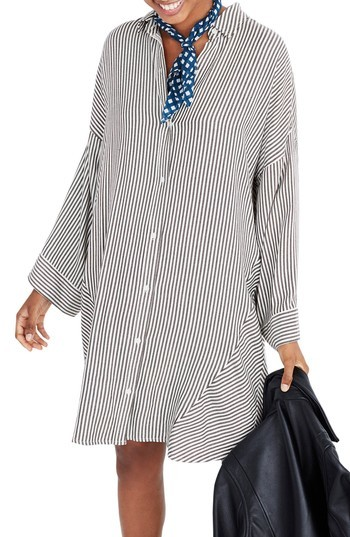 Madewell Stripe Play Shirtdress
