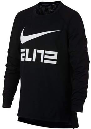 Nike Big Boys Elite-Print T-Shirt