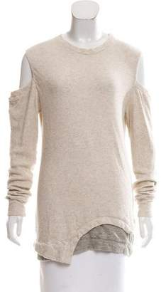 3.1 Phillip Lim Cutout-Accented Crew Neck Sweater