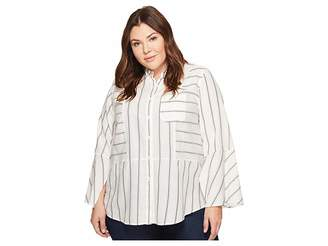 Plus Size Collared Shirts Shopstyle