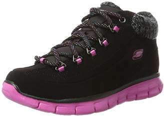 Skechers Synergy - Strong Will, Girls' Ankle Boots,3 UK (36 EU)
