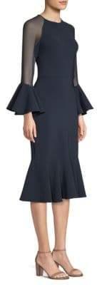 Sachin + Babi Bodycon Bell-Sleeve Dress