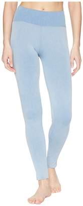 Splendid Studio Distressed Seamless Leggings Women's Casual Pants