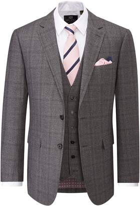 Skopes Men's Theodore Check Suit Jacket