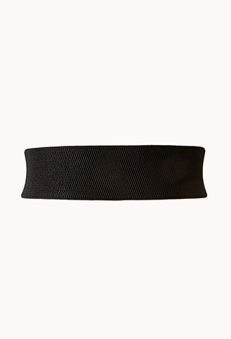 Forever 21 Buckled Faux Leather Waist Belt