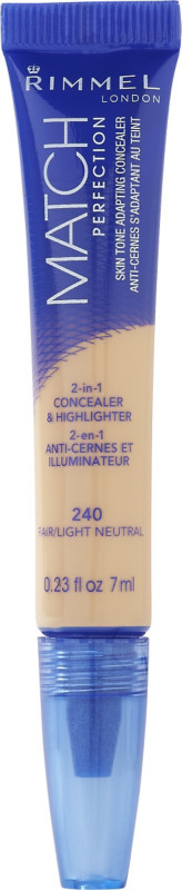 Rimmel Match Perfection Skin Tone Adapting Concealer
