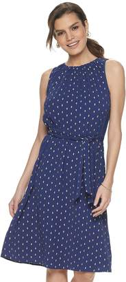 Juicy Couture Women's Cinched Sleeveless Dress