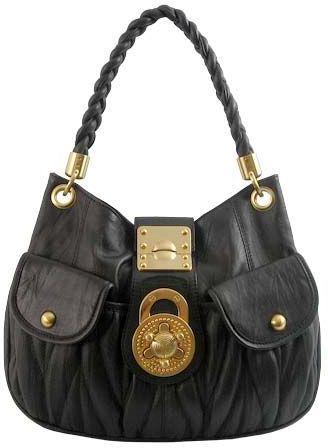 Bbabylux Black Leather