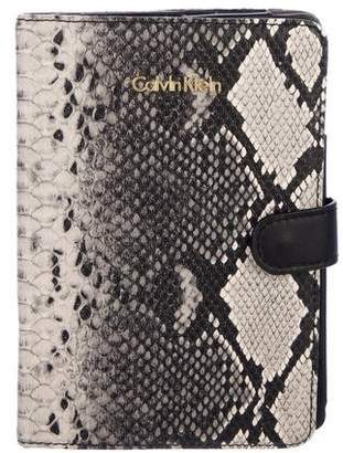 Calvin Klein Embossed iPad Case
