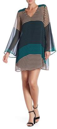 ECI Long Sleeve Stripe Dress