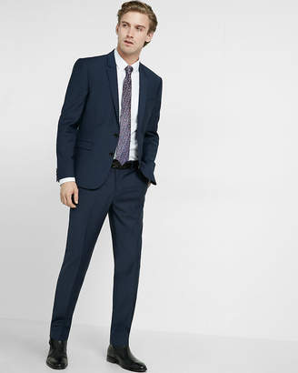Express Extra Slim Performance Stretch Wool-Blend Suit Pant