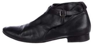 Saint Laurent London 20 Crop Jodhpur Boots