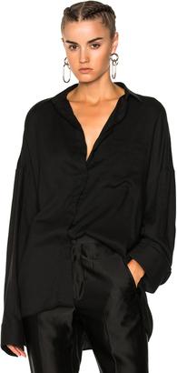 Haider Ackermann Oversized Shirt $795 thestylecure.com