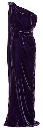 Roland Mouret Exclusive to mytheresa.com – Silvabella velvet gown