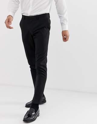 ... Burton Menswear skinny fit suit trouser in black 4910bd1cc9